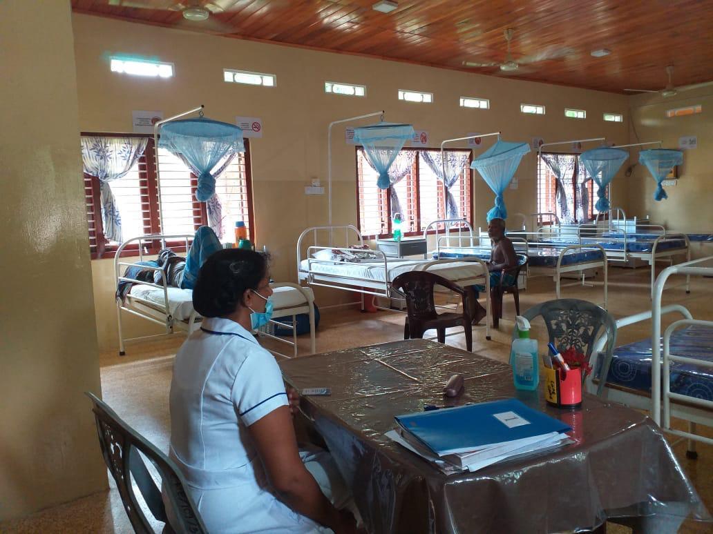 hospice ward